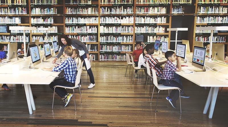 อาชีบรรณารักษ์ ห้องสมุด
