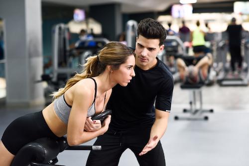 อาชีพ เทรนเนอร์-การออกกำลังกาย