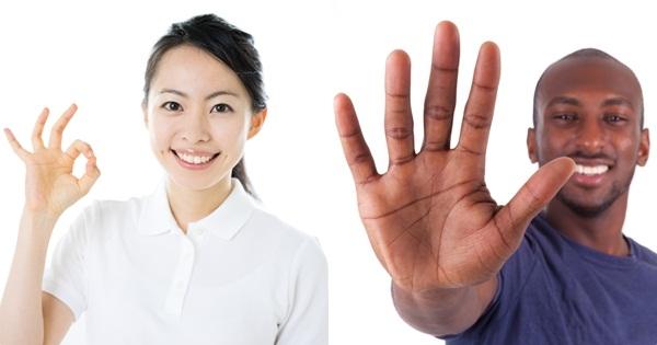 ภาษากาย-ในส่วนของมือไม้ท่าทางในการพูดที่ดี