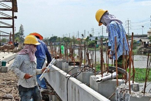 อาชีพช่างก่อสร้าง