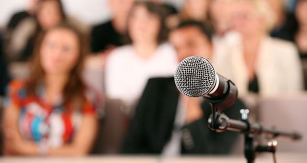 การพูดในที่สาธารณะ การพูดในที่ประชุม